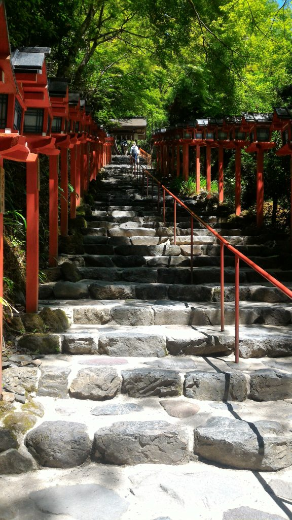 Kyoto Adventures – Entrance of Kibune shrine